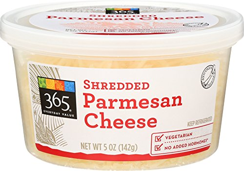 365 Everyday Value Shredded Parmesan Cheese 5 oz