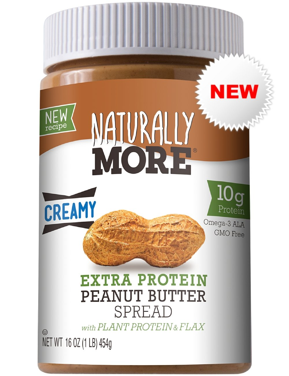 Naturally More All Natural Peanut Butter